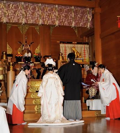湯島天満宮結婚式披露宴