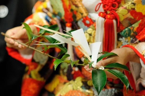神社結婚式玉串やり方