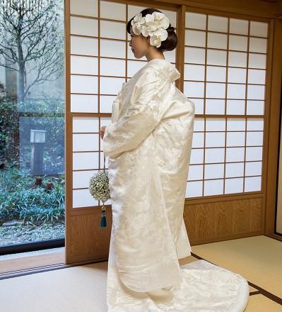 お寺結婚式白無垢