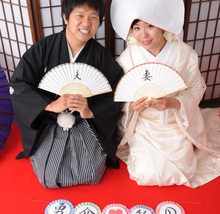 和装結婚式写真