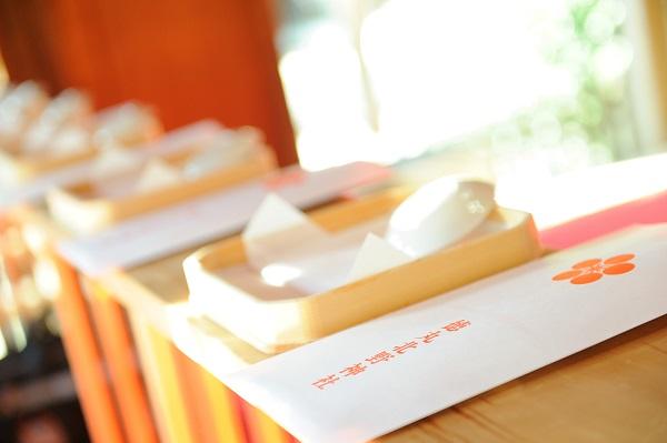 徳丸北野神社結婚式披露宴白無垢