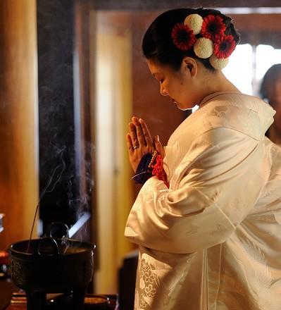 鎌倉お寺 白無垢仏前式と披露宴プロデュース