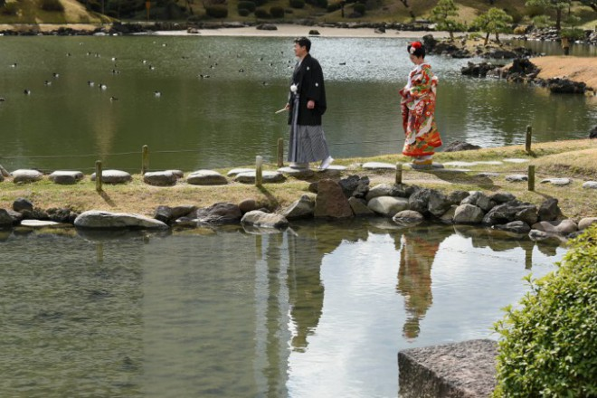 結婚式と和装ロケ