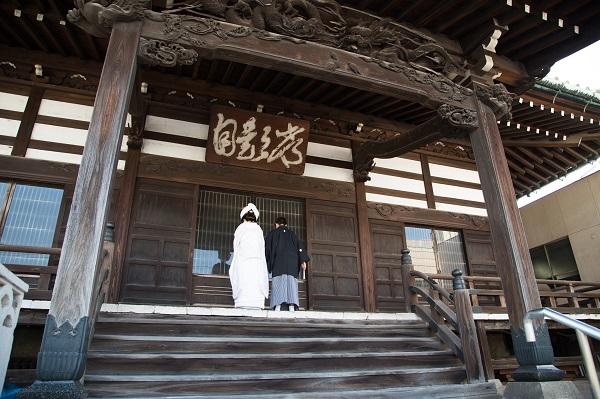 お寺仏前結婚式ら族食事会プロデュース