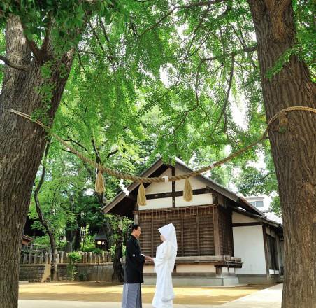 神社結婚式食事会東京