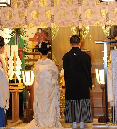代々木八幡宮結婚式新日本髪