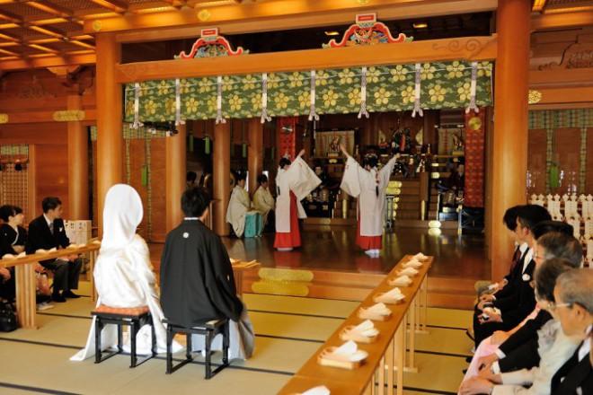 湯島天満宮結婚式と披露宴