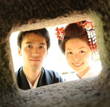 新日本髪でオーダーメイド和装結婚式