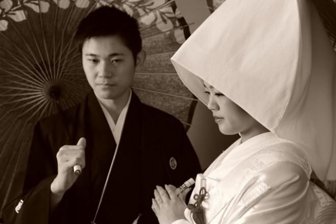 和装結婚式お寺東京