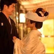 神社結婚式東京ナイトウエディング和装東京