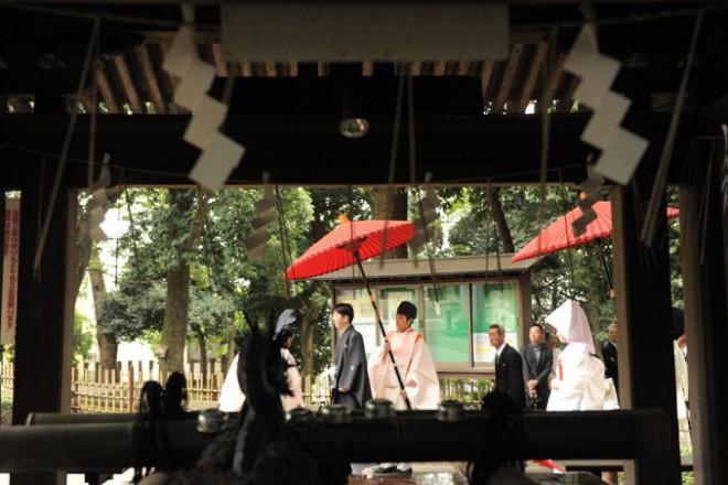 神社結婚式費用東京