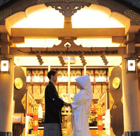 須賀神社結婚式レストラン披露宴