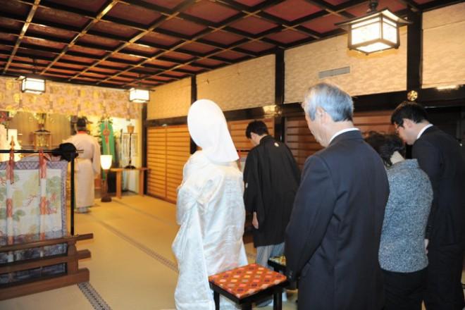 代々木八幡宮家族親族結婚式