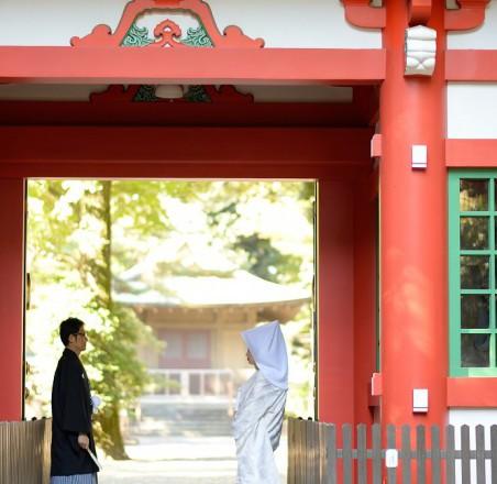 井草八幡宮結婚式披露宴白無垢レンタルプロデュース