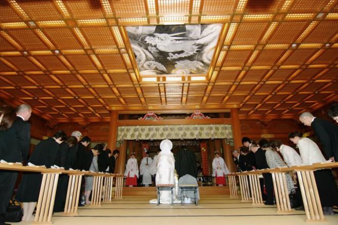 湯島天満宮結婚式披露宴和装準備プロデュース