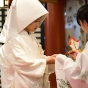 三三九度 熱海来宮神社結婚式披露宴和婚