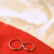 神社結婚式 指輪交換