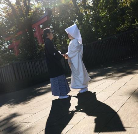 井草八幡宮結婚式