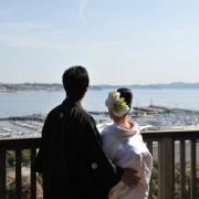 江島神社結婚式と披露宴準備