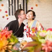 国際結婚和装着物パーティー
