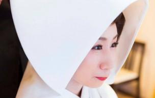 代々木八幡宮結婚式 白無垢花嫁