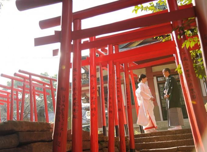 東京神社結婚式 品川神社挙式披露宴