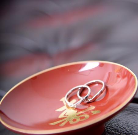 和装結婚式指輪