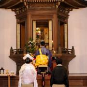 仏前結婚式求道会館プロデュース