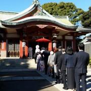品川神社結婚式と披露宴