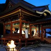 鎌倉鶴岡八幡宮幸あかり挙式と披露宴