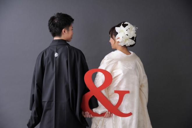 和装花嫁レッスンと花嫁写真