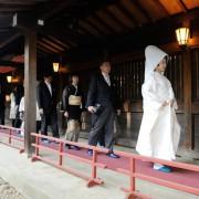 代々木八幡宮結婚式と家族食事会