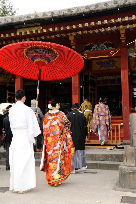 神社結婚式披露宴東京