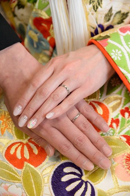 結婚式指環
