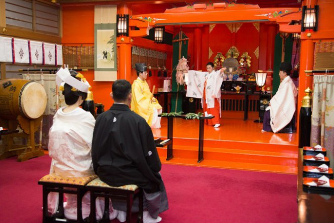箱根神社結婚式披露宴プロデュース