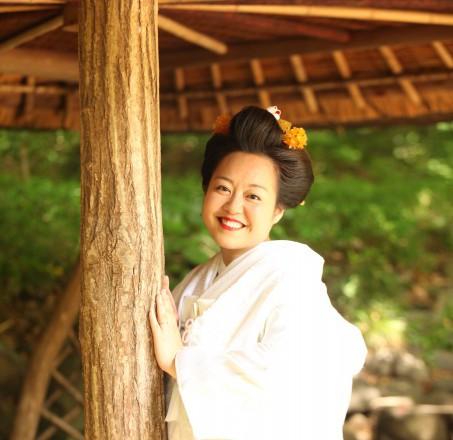 結婚式新日本髪