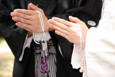 仏前結婚式 白無垢レンタル