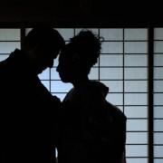 東京神社和装結婚式 国際結婚