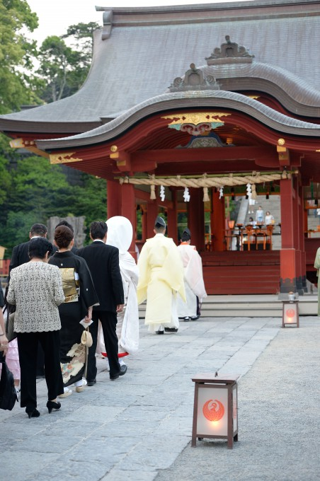鶴岡八幡宮幸あかり式