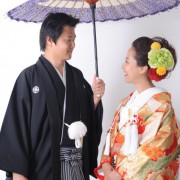 日本で和装写真
