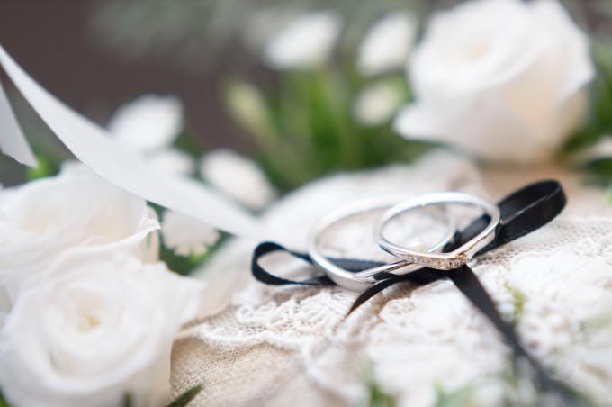 神社 指輪交換