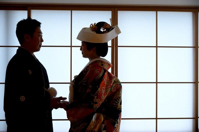 旅館結婚式