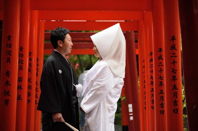 神社結婚式熱海