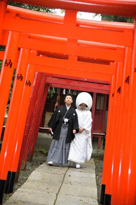 熱海来宮神社結婚式 白無垢