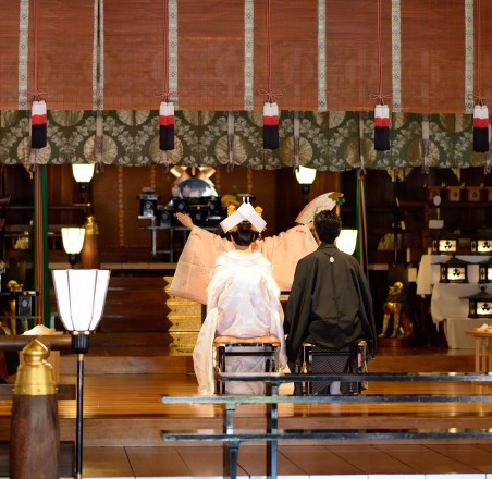 富岡八幡宮結婚式 披露宴