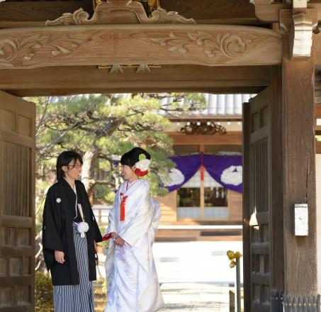 聞明寺結婚式
