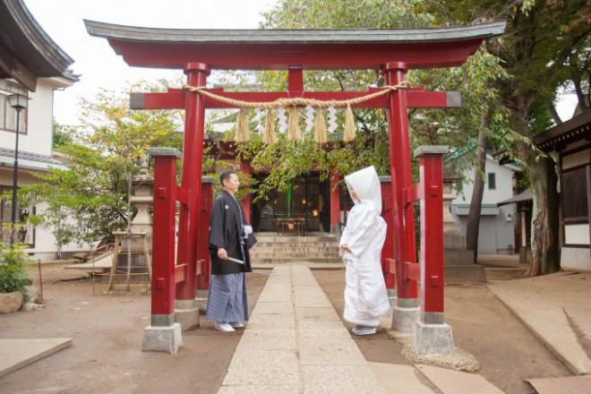 東京神社結婚式