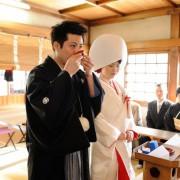 鳥越神社結婚式と食事会